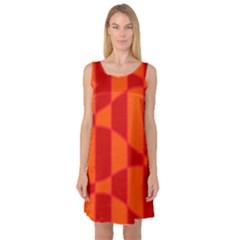 Background Texture Pattern Colorful Sleeveless Satin Nightdress