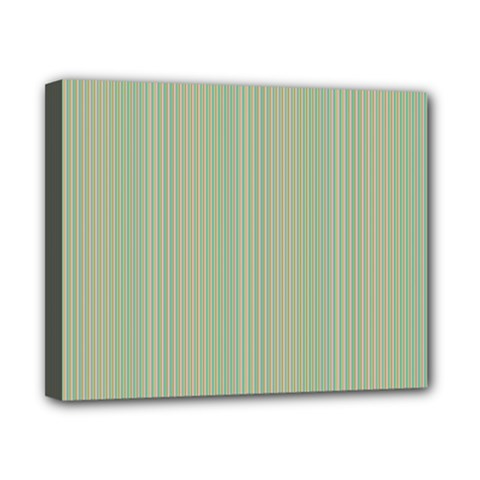 Background Pattern Green Canvas 10  X 8
