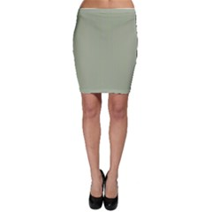 Background Pattern Green Bodycon Skirt