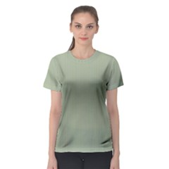 Background Pattern Green Women s Sport Mesh Tee