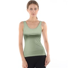 Background Pattern Green Tank Top