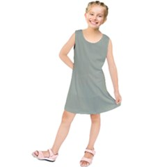 Background Pattern Green Kids  Tunic Dress