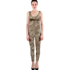 Camouflage Tarn Texture Pattern OnePiece Catsuit