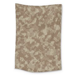 Camouflage Tarn Texture Pattern Large Tapestry