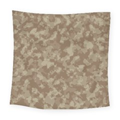 Camouflage Tarn Texture Pattern Square Tapestry (Large)