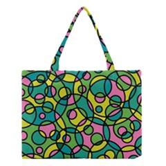 Circle Background Background Texture Medium Tote Bag