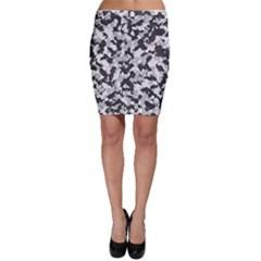 Camouflage Tarn Texture Pattern Bodycon Skirt