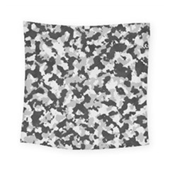 Camouflage Tarn Texture Pattern Square Tapestry (Small)