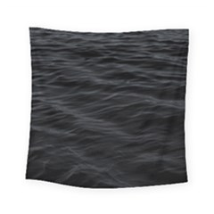 Dark Lake Ocean Pattern River Sea Square Tapestry (Small)