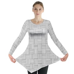 Flooring Household Pattern Long Sleeve Tunic