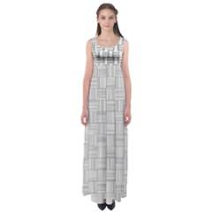 Flooring Household Pattern Empire Waist Maxi Dress