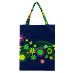 Flower Power Flowers Ornament Classic Tote Bag