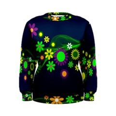 Flower Power Flowers Ornament Women s Sweatshirt