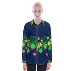 Flower Power Flowers Ornament Shirts