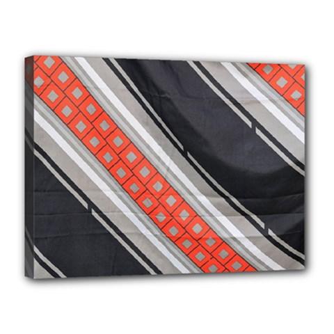 Bed Linen Microfibre Pattern Canvas 16  x 12