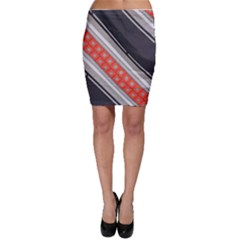 Bed Linen Microfibre Pattern Bodycon Skirt