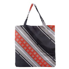 Bed Linen Microfibre Pattern Grocery Tote Bag
