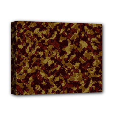 Camouflage Tarn Forest Texture Deluxe Canvas 14  x 11