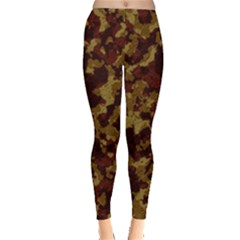 Camouflage Tarn Forest Texture Leggings