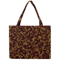 Camouflage Tarn Forest Texture Mini Tote Bag