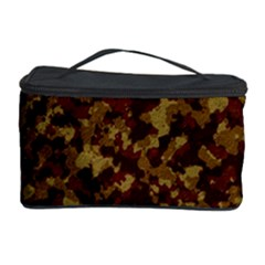 Camouflage Tarn Forest Texture Cosmetic Storage Case