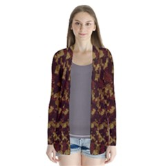 Camouflage Tarn Forest Texture Cardigans