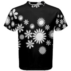 Flower Power Flowers Ornament Men s Cotton Tee