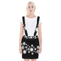 Flower Power Flowers Ornament Suspender Skirt