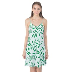 Leaves Foliage Green Wallpaper Camis Nightgown