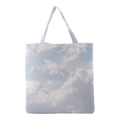 Light Nature Sky Sunny Clouds Grocery Tote Bag