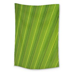 Green Leaf Pattern Plant Large Tapestry