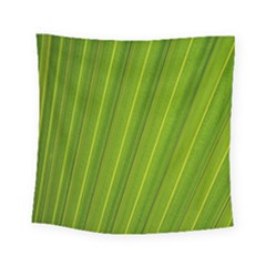 Green Leaf Pattern Plant Square Tapestry (Small)