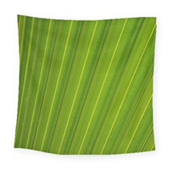 Green Leaf Pattern Plant Square Tapestry (large)