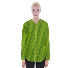 Green Leaf Pattern Plant Shirts
