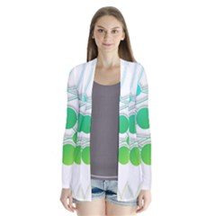 Network Connection Structure Knot Cardigans