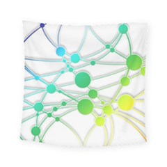 Network Connection Structure Knot Square Tapestry (small)