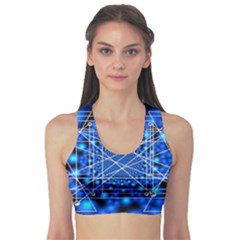 Network Connection Structure Knot Sports Bra