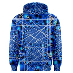 Network Connection Structure Knot Men s Pullover Hoodie