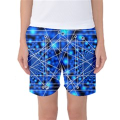 Network Connection Structure Knot Women s Basketball Shorts