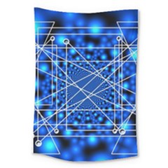 Network Connection Structure Knot Large Tapestry