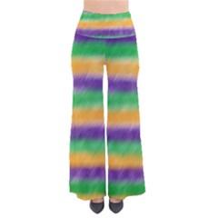 Mardi Gras Strip Tie Die Pants