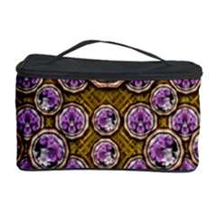 Gold Plates With Magic Flowers Raining Down Cosmetic Storage Case