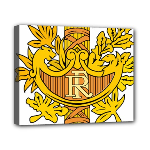 National Emblem of France  Canvas 10  x 8