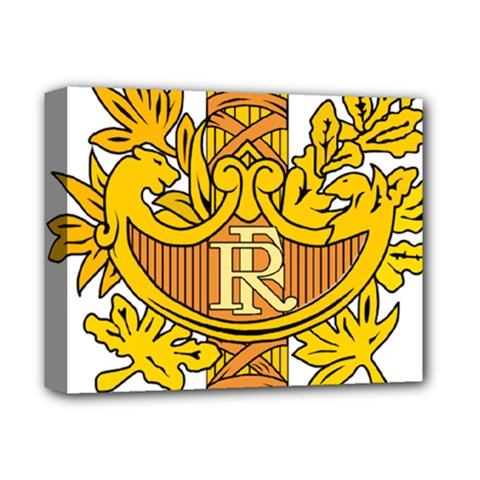 National Emblem of France  Deluxe Canvas 14  x 11