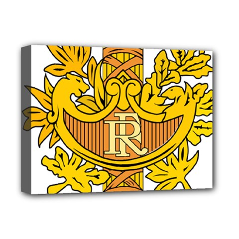 National Emblem of France  Deluxe Canvas 16  x 12
