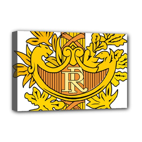 National Emblem of France  Deluxe Canvas 18  x 12