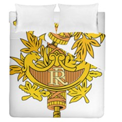 National Emblem of France  Duvet Cover Double Side (Queen Size)