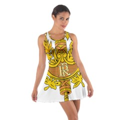 National Emblem of France  Cotton Racerback Dress