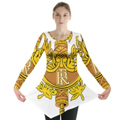 National Emblem of France  Long Sleeve Tunic