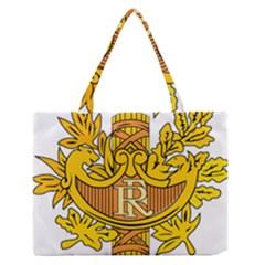 National Emblem of France  Medium Zipper Tote Bag